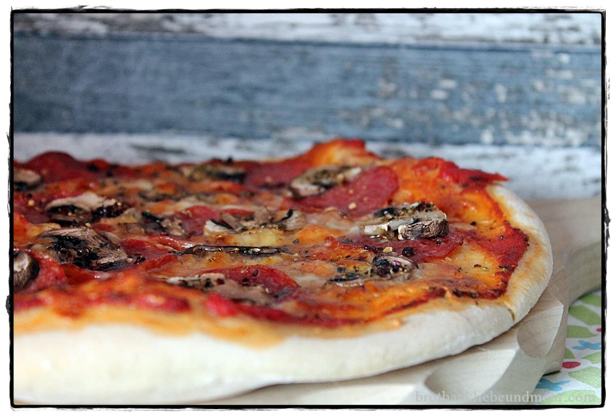 Mein Pizzateig - echt italienisch mit Lievito Madre