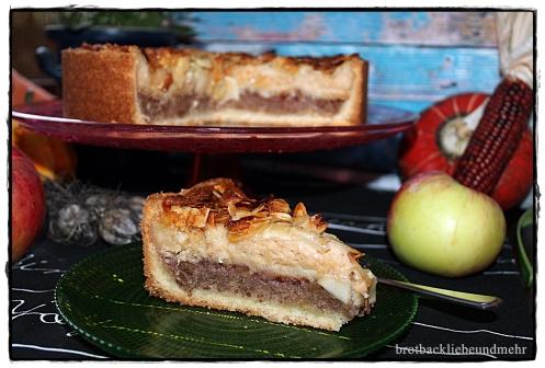 """""""7 auf einen Streich"""" Apfel-Walnuss-Kuchen für """"Calender of Cakes"""" von sugarprincess"""